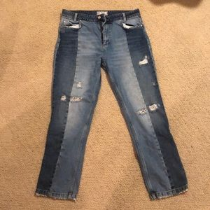 Free people denim jeans like new